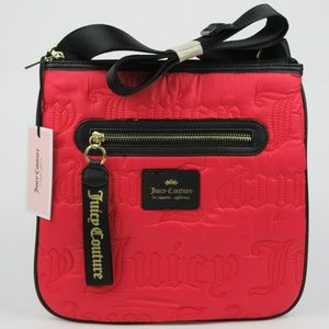 NWT $79 Juicy Couture Womens Gothic Crossbody Bag